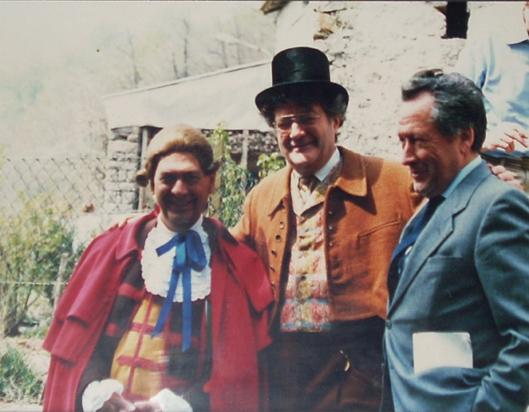 Flamini Burat Brero festa del piemont s gioann d'andorn 1987