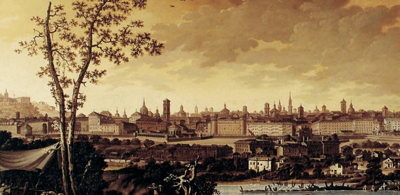 Turin, Pòrta Palass dël Sécol XVIII (Ignassi Sclòpis Dël Borgh (Turin, 1727-1793))
