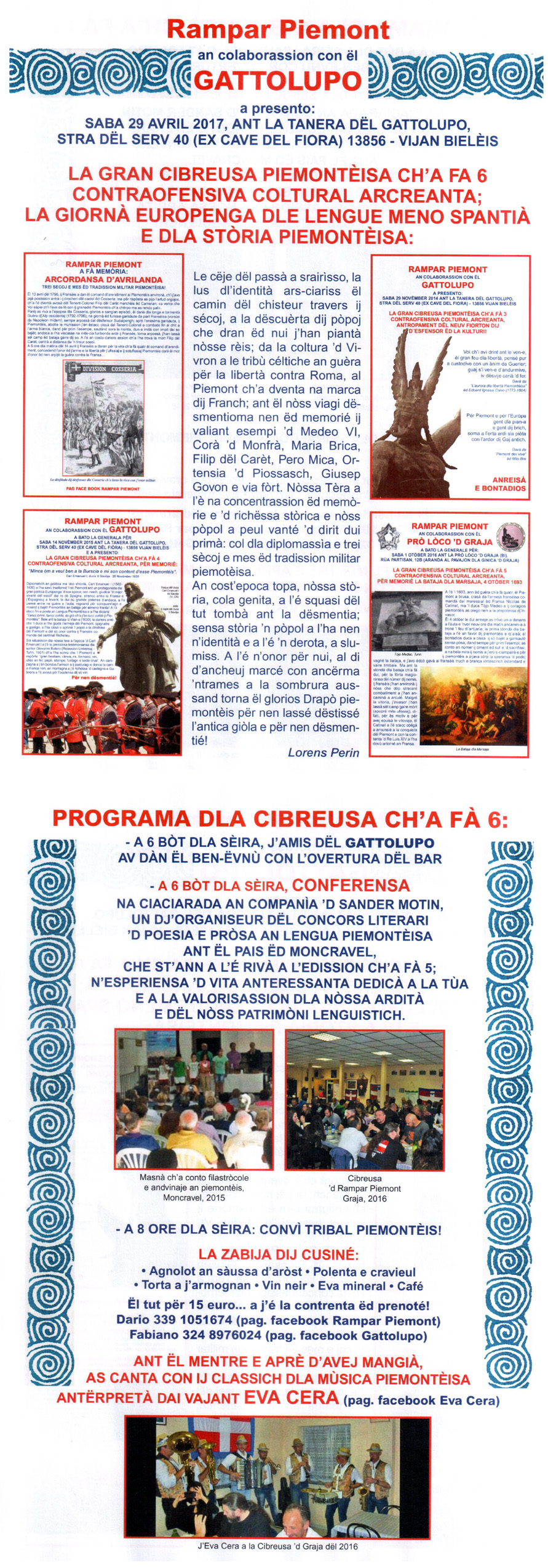 VI Cibreusa Piemontèisa