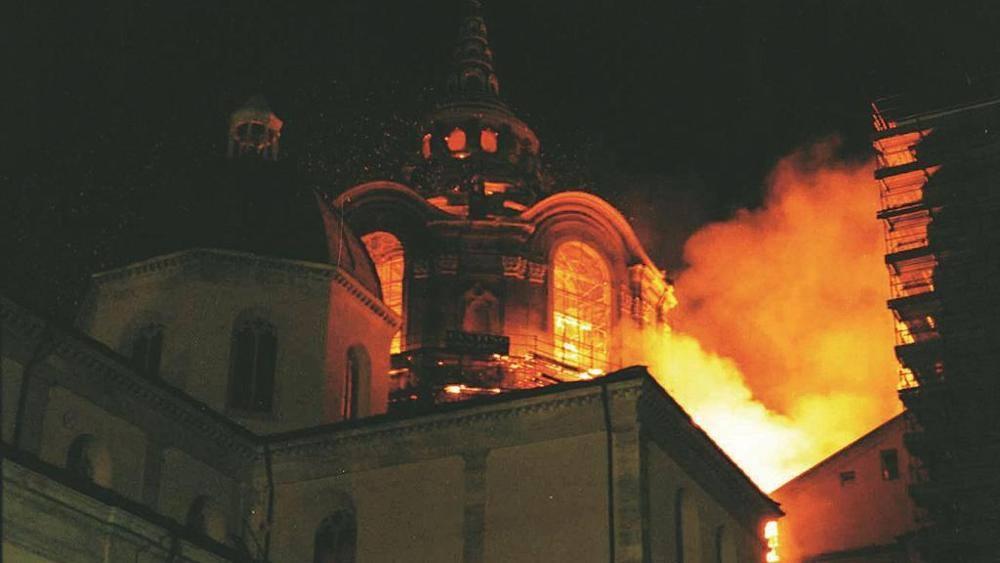 Incendio della Cappella della Sindone