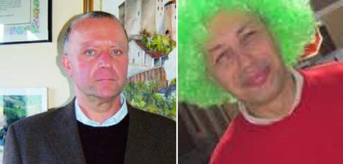 L'assessore ed ex-sindaco Carlo Conti e l'attuale vicesindaco Franco Gaspardone.