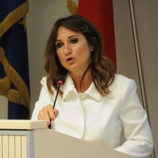 La consigliera Barbara Ingrid Cervetti